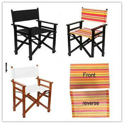 Casual Directors Chairs Cover Replacement Canvas Seat Covers Set Outdoor  A!