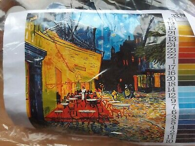 Paint Ny Numbers Kit- Van Gogh - Arles Cafe Terrace At Night - New