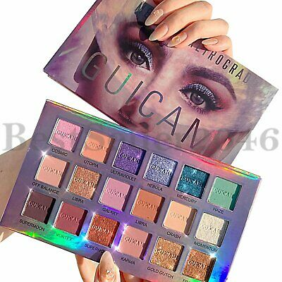 Pro 18 Colors Eyeshadow Palette Pigmented Matte Shimmer Eye Shadow Makeup