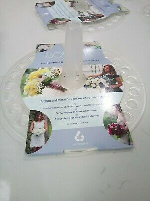 Bow K Ribbon, Handheld Bouquet, Flower Craft Centrepieces Carry or Display New