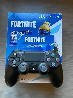 Dualshock 4 V2 Controller for Play Station 4 Sony Fortnite 2019 Black