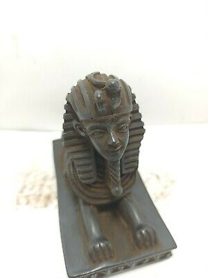 RARE ANTIQUE ANCIENT EGYPTIAN Statue Amulet Sphinx of Giza 1264-1244 Bc