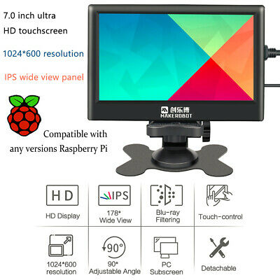7 Inch HD IPS Capacitive Tou-chscreen Display Monitor for Raspberry Pi C4C6