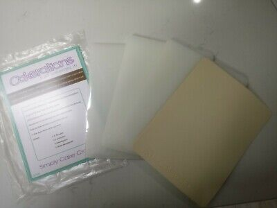 Cakerations Cutting Plates - Base, Cutting, Embossing Plates & Silicone Mat New