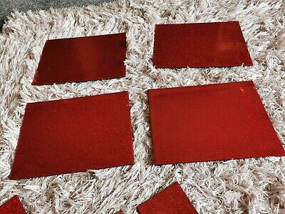 Wipe Clean PVC Plain Sparkly Glitter Dining Table Place Mats