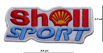 Shell wings gasoline motor oil Iron Sew on Embroidered Patch applique