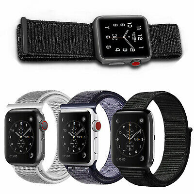 Nylon Band Strap For Apple Watch iWatch Series 5 4 3 2  38/40mm 42/44mm