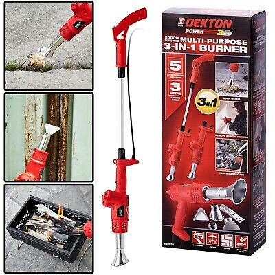 Weed Burner Killer Wand Butane Blowtorch Garden Outdoor Weeds Moss Fungus