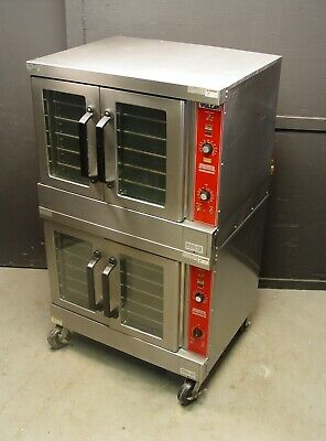 Vulcan VC4GD-10 Natural Gas Double Stack Convection Oven