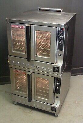 Blodgett Zephaire 200-GL  Bakery Depth Double Stack Natural Gas Convection Oven