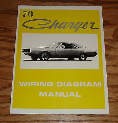 1968 Dodge Charger Wiring Diagram Manual 68 Rt 10 00 Picclick