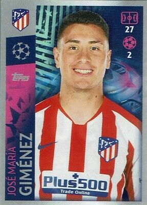 Topps Match Attax Champions League Sticker CL 19/20 No. 30 Jose Maria Gimenez