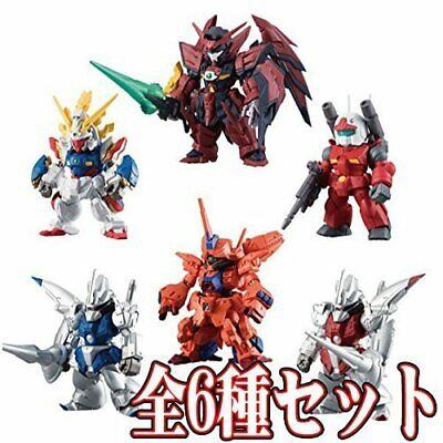 Full comp FW GUNDAM CONVERGE ♯7 candy toy goods only all 6 full set
