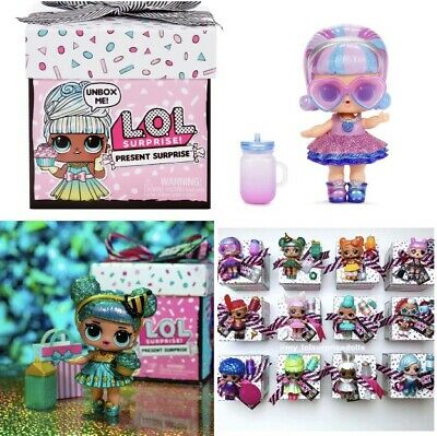 1 Sealed Box •IN HAND• New LOL Surprise Doll PRESENT SERIES