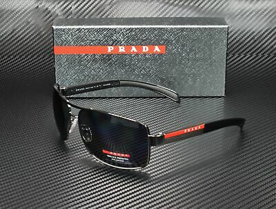 PRADA LINEA ROSSA PS 54IS 5AV5Z1 Gunmetal Polarized Gray 65 mm Men's Sunglasses