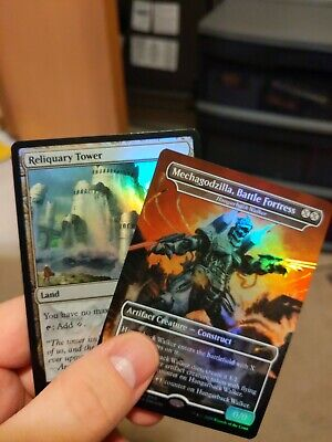 MTG Magic the Gathering 1x NM Reliquary Tower FOIL Love Your LGS Promo
