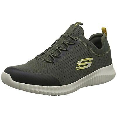 Skechers - 52440_BKW Homme, Rouge (Borde