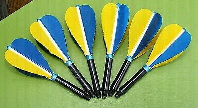 FEATHER DART FLIGHTS 2ba THREAD 2 SETS PER LOT TO FIT TUNGSTEN STOCK CLEARANCE
