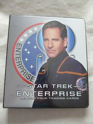 Star Trek Enterprise Season 4  Trading Card Set+ Binder+Chase+Promo+Autograph