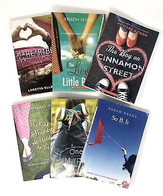 Lot of 6 Chapter Books for Girls Youth Preteen Reader Fiction