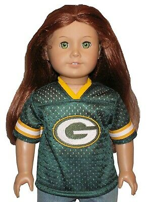 "Football Sport Team Inspired Jersey fits 18/"" American Girl Size Doll"