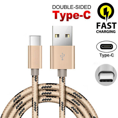 Heavyduty Braided Fast Charge USB C Type C Data Phone Charger Cable