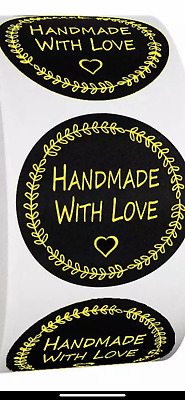 72pcs Thank You Hand Made with Love Especially for You Stickers Label HIE FcUNU