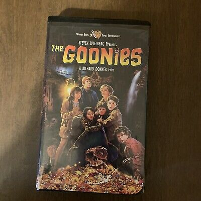 The Goonies Steven Spielberg Promo Vhs Tape Tested Works 30 00 Picclick