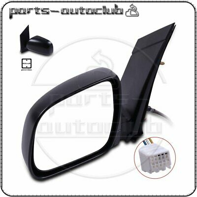 TUPARTS Fit for 2004-2010 Toyota Sienna TO1320201 with Power Adjusted Manual Telescoping Folding Side View Mirror Mirror
