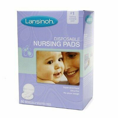 Lansinoh Nursing Pads Stay Dry 60 Each  Pack of 6