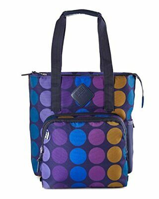 BUILT NY Lunchpack collection Verdi Tote Bag with Removable Insulated Lunch B...