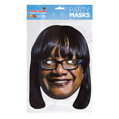 Diane Abbott Version 2 Labour Politician Card Mask Our Masks Are Pre-Cut!