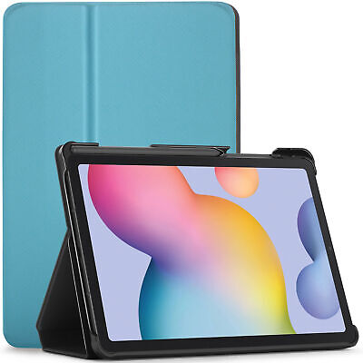 Samsung Galaxy Tab S6 Lite Custodia, Cover, Stand, Smart Auto Sleep Wake - Cielo