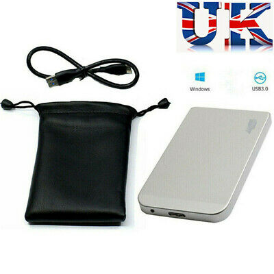 2020 1TB USB3.0 External Hard Drive Disks HDD 2.5'' Fit For PC Laptop Portable