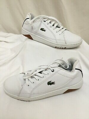 MENS LACOSTE DEVIATION II White Leather