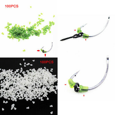 50P Hook Stops Beads Carp Fishing Terminal Tackle Rubber Ronnie Carp Rigs Holder