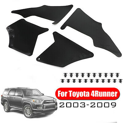 TO1251129 Front Apron Seal For Toyota 4Runner Splash Guard//Fender Liner 2003-2020 Driver and Passenger Side Pair//Set Front Replacement For TO1250129 5373635150 5373535150