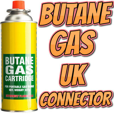 Universal Butane Gas Can Bottle Canister BBQ Cooker Grill Weed Burner Blow Torch