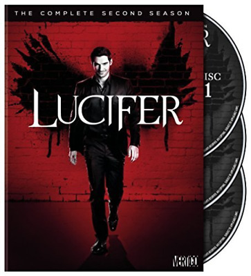 Lucifer: The Complete Secon...-Lucifer: The Complete Second Season (3Pc) Dvd New