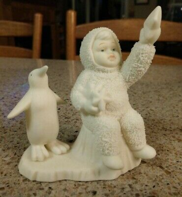 NEW DEPARTMENT 56 SNOWBABIES WISHING ON A STAR #7943-0 FIGURE