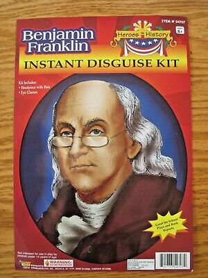 Forum Novelties Mens Heroes In History Instant Disguise Kit William Shakespeare