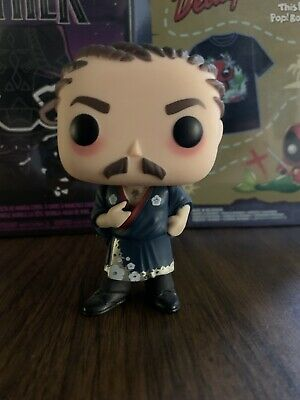OOB Funko Pop! TV Parks and Rec Ron Swanson #652 2018 Summer Convention