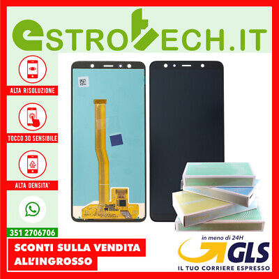 Display Samsung Originale Per Galaxy A7 2018 A750F Sm-A750F Nuovo Lcd Con Touch