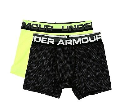 Under Armour 2 Pack Boxer Briefs Youth Size S 23667