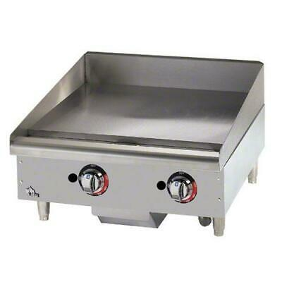 Star - 624TF - Star-Max® 24 in Thermostatic Control Gas Griddle