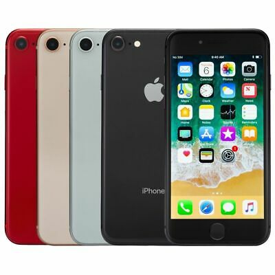 NEW Apple iPhone 8 64GB  256GB Smartphone Mobile All color Free sim UK STOCK