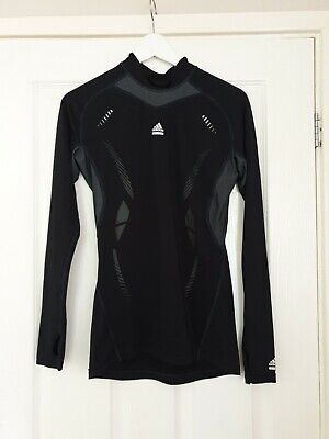 Stunning ADIDAS Techfit Black Climacool Base Layer Skin