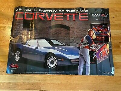1994 Bally Midway Corvette pinball super kit