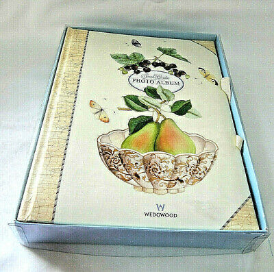 Wedgwood Photo Album Sarah's Garden Large Boxed Unused Vintage