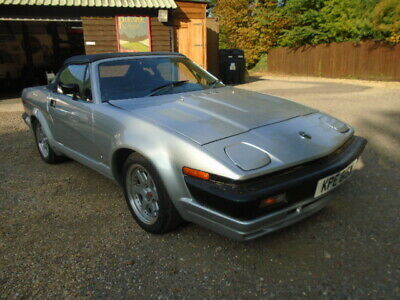Triumph TR7 V8 Convertible 5 speed car drives great Leather trim Fresh mot+Serv